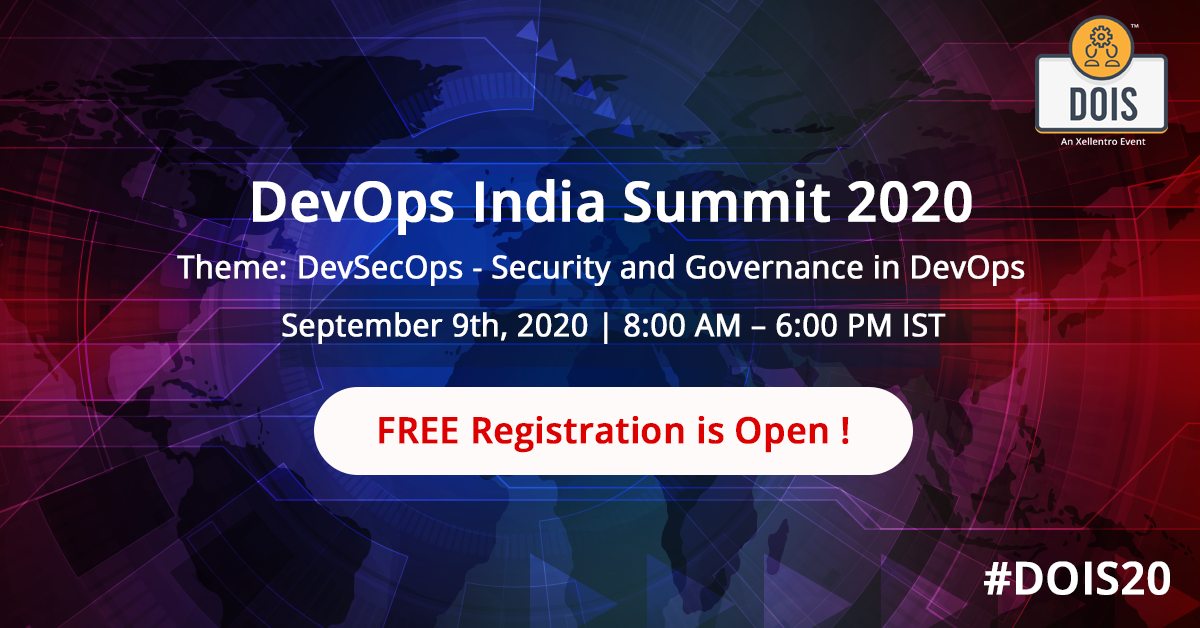 DevOps India Summit 2020: Access from the safety of your home